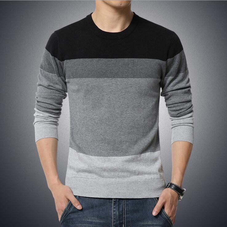 Winter Sweater Men Pullover Mens O-Neck Knit Warm Pullover masculino sueter Pull homme jersey Plus size 5XL Male Polo Sweater#B5