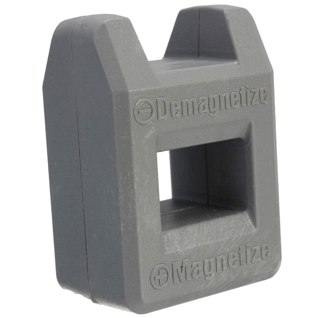 все цены на Screwdriver Magnetizer Degaussing Demagnetizer Magnetic Practical Pick Up Tool Color:Gray