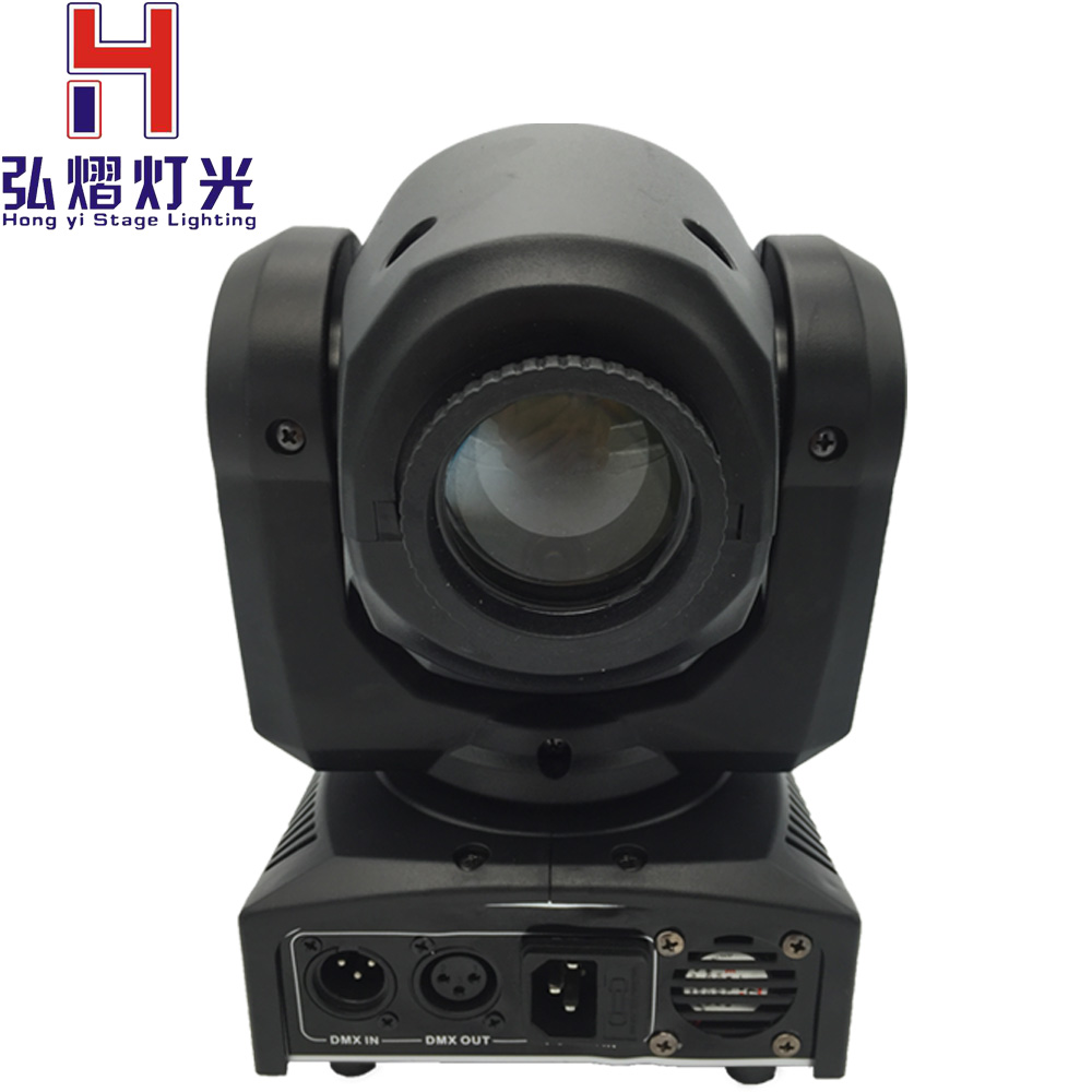 Led Spot Us 83 Hongyistagelight Led 30w Mini Led Spot Moving Head Light Gobo Spot Light Dmx Dj 8 Gobos Effect Stage Lights Ktv Bar Disco In Stage Lighting