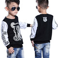 Spring Autumn Long Sleeve T-Shirt For Boys Stripe Boys Shirts Children Tops Children's Sweatshirts Baby Clothing Tees