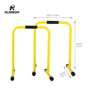 Image 5 - Оборудование для фитнеса ALBREDA для помещений, многофункциональный тренажерный зал, потеря веса, параллельные бруски, горизонтальный брусок, оборудование для упражнений