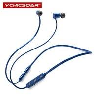 Vchicsoar IPX6 Waterproof Bluetooth Earphone Sports Wireless Headphones Stereo Magnetic Headset Bluetooth 4 1 With Mic