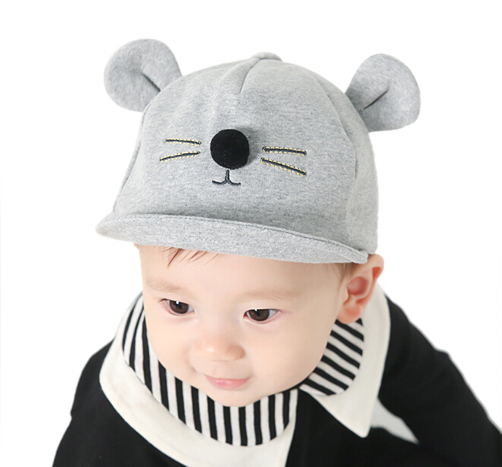 9c353d857a87 2019 New Hot Sell Spring Infant Hat Autumn Caps Kids Baby Bunny ...