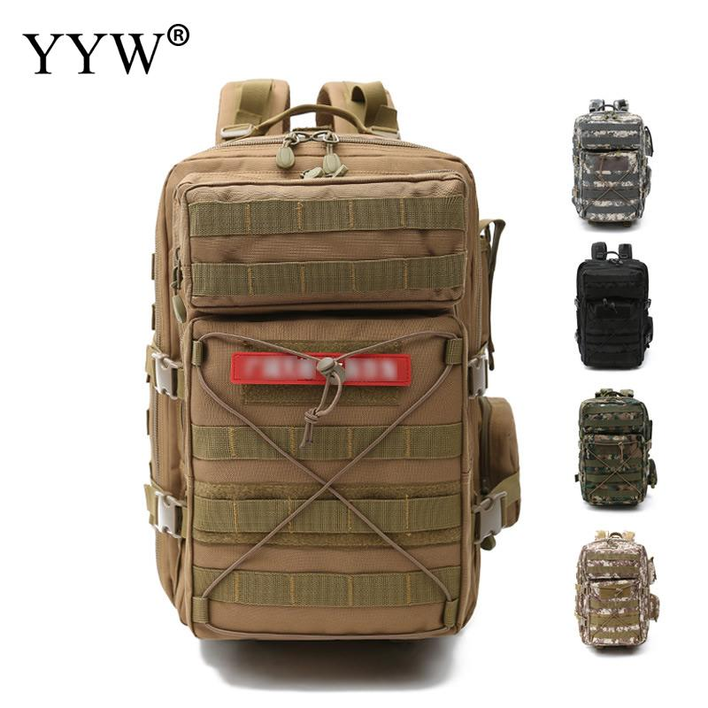 High Capacity Men Travel Bags Mountaineering Duffle Bag Fashion Multifunction Backpack for Male Military Style Men's Backpacks high capacity male military backpacks travel luggage bags men casual camouflage canvas bag multifunction waterproof backpack 50l