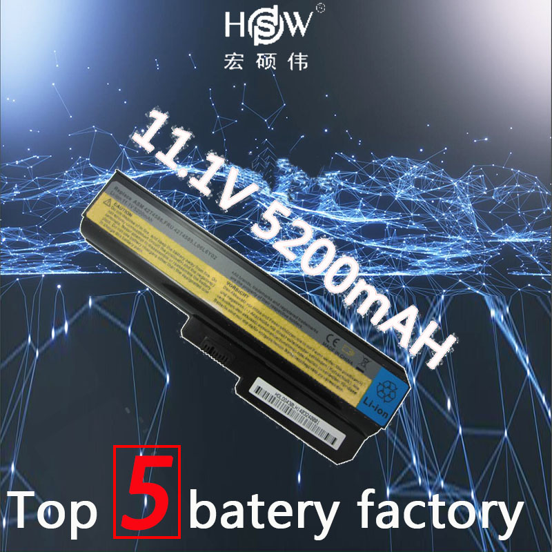HSW 5200mah battery for lenovo G550 G430 G450 G530 N500 G430 Z360 L06L6Y02 L08L6C02 L08O6C02 L08S6C02 L08S6Y02 51J0226 batteria 2017 bl 210 bl210 battery for lenovo a536 a606 s820 s820e a750e a770e a656 a766 a658t s650 mobile phone backup batteria