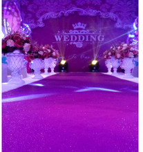 20 meter 140cm Wide Wedding Glitter Sparkle Carpet T Stage Party Rug Aisle Runner Synthetic Non-slip