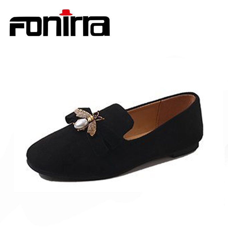 New Spring Women Loafers Shoes Fashion Sweet Slip On Driving Women Shoes Comfortable Plus Size 35-42 Women Shoes FONIRRA 168 women flat shoes for 2018 spring summer fashion air mesh womens slip on loafers breathable comfortable walking shoes size 35 41