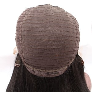 Image 4 - Bombshell שחור עמוק גל תחרה סינתטית עמידות בחום סיבים טבעי קו שיער צד פרידה לאפריקני אמריקאי נשים