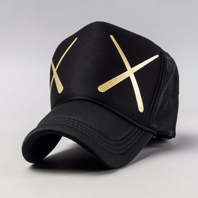 2016 wholesale trucker cap  for summer dress,XX logo be printed baseball cap,curved brim ,back with mesh hat for couple