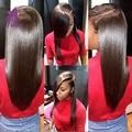 Peerless Peruvian Straight Virgin Hair 3Pcs 100% Peruvian Straight Human Hair Virgin Straight Hair Bundle Deals Alimice Products