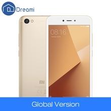 Dreami Global Version Originale Xiaomi Redmi Note 5A 2 GB 16 GB Snapdragon 425 Quad Core Mobile Téléphone 13MP 5.5 Pouce 2 + 1 Fente Pour Carte