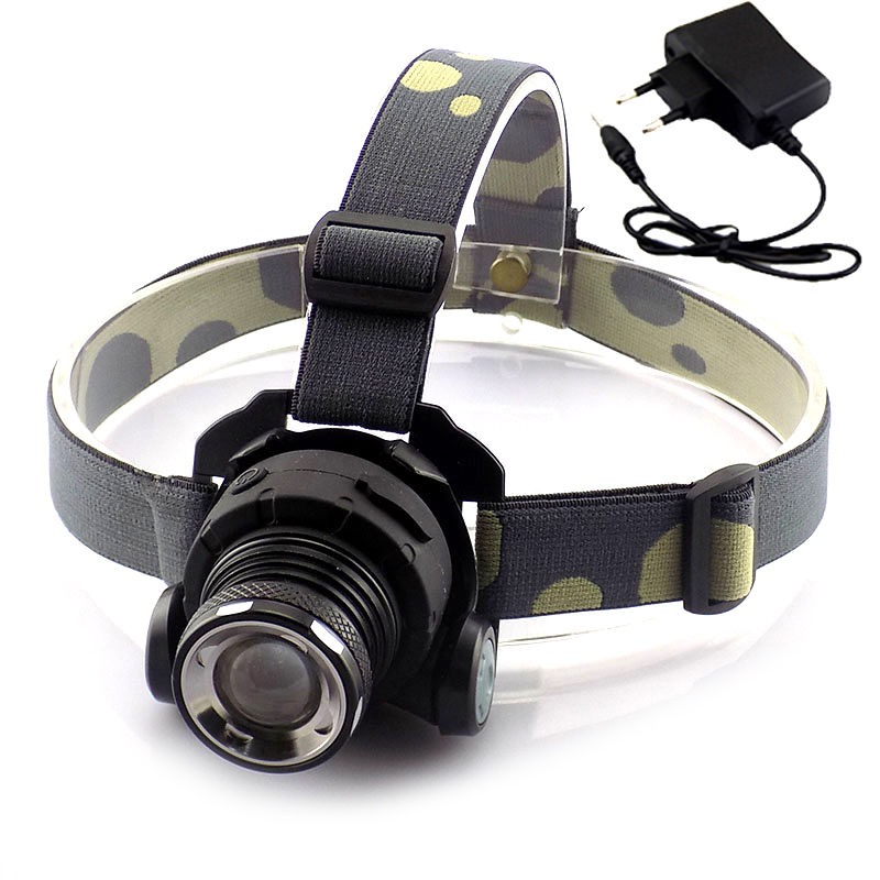 Built-In Battery Cree Q5 Led Headlamp Rechargeable Head Torch Lamps Light Lamp Frontal Mini Headlight 1600 Lumens Headlight