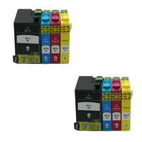 8pcs 2711 2701 High Capacity Compatible Ink Cartridge For Epson WorkForce WF 7110 7610 7620 3620