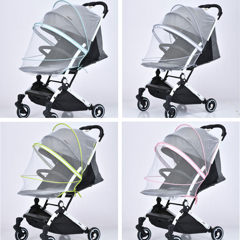 Baby stroller mosquito net Upgrade Universal Baby cart accessories Suitable most stroller For Babyyoya YOYO YOYA Babysing in Strollers Accessories from Mother Kids