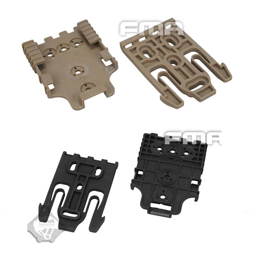 High Quality FMA Tactical Quick Locking System Kit Safariland Holster QLS Kit TB1042 DE/BK
