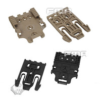 High Quality FMA Tactical Quick Locking System Kit Safariland Holster QLS Kit TB1042 DE BK