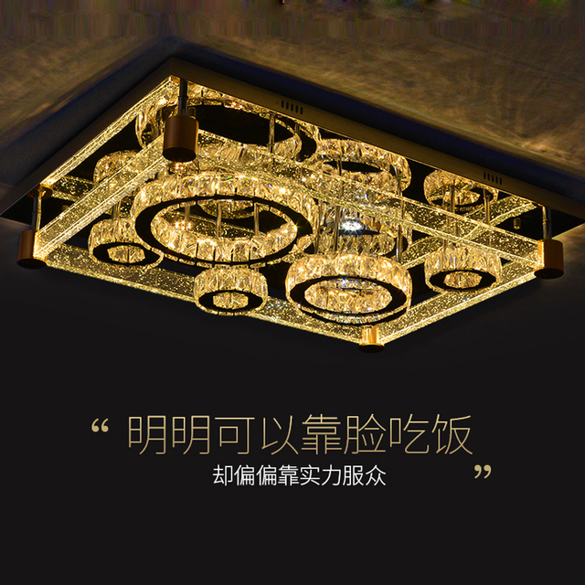 aliexpress koop rvs moderne lampen plafond led voor woonkamer