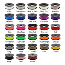ANYCUBIC 28 Cores Opcional Impressora 3D PLA Filament 1 KG/roll 1.75mm para 3D Printer/3D Caneta/Reprap/Makerbot