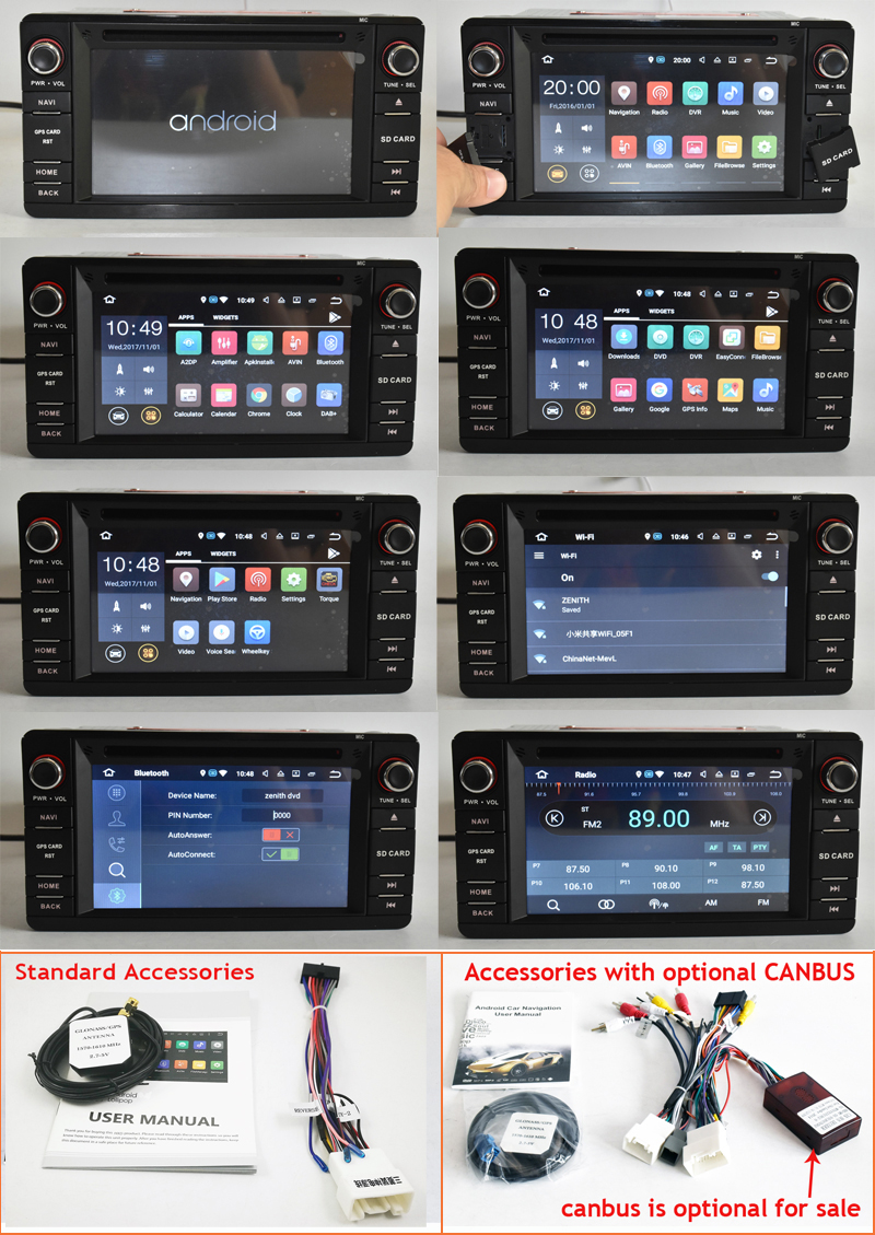mitsubishi asx outlander pajero sport android car dvd 2din with canbus rockford amplifier (5) -