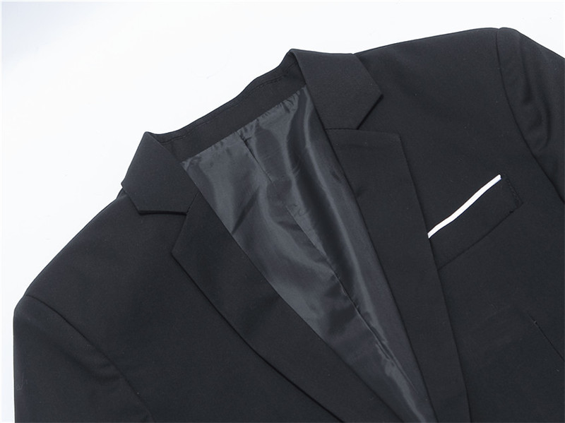 df1465f28d31c ... New Hot Arrival Fashion Blazer Men's Casual Jacket Solid Color Cotton  Men Blazer Classic ...