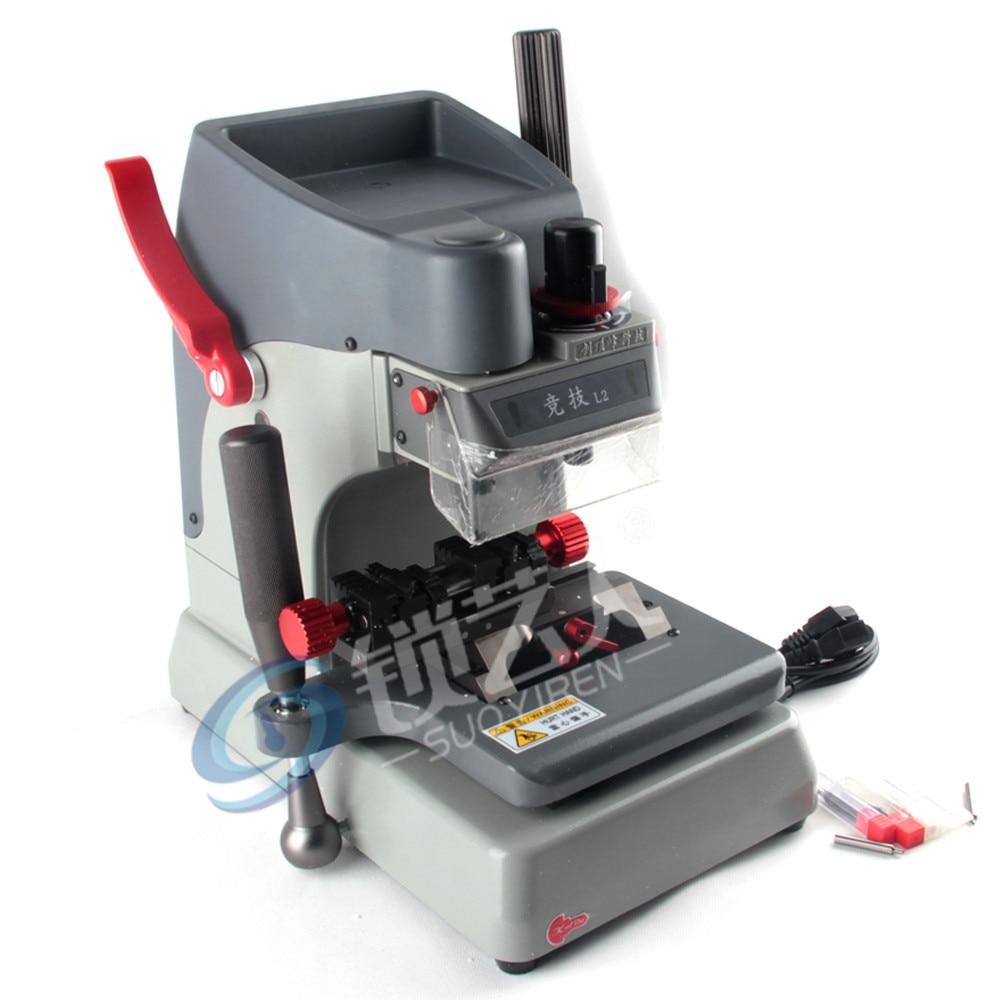 2019 New L2 Vertical Key Cutting Machine Universal Key Duplicate Machine Better Than Slica Key Cutting Machine