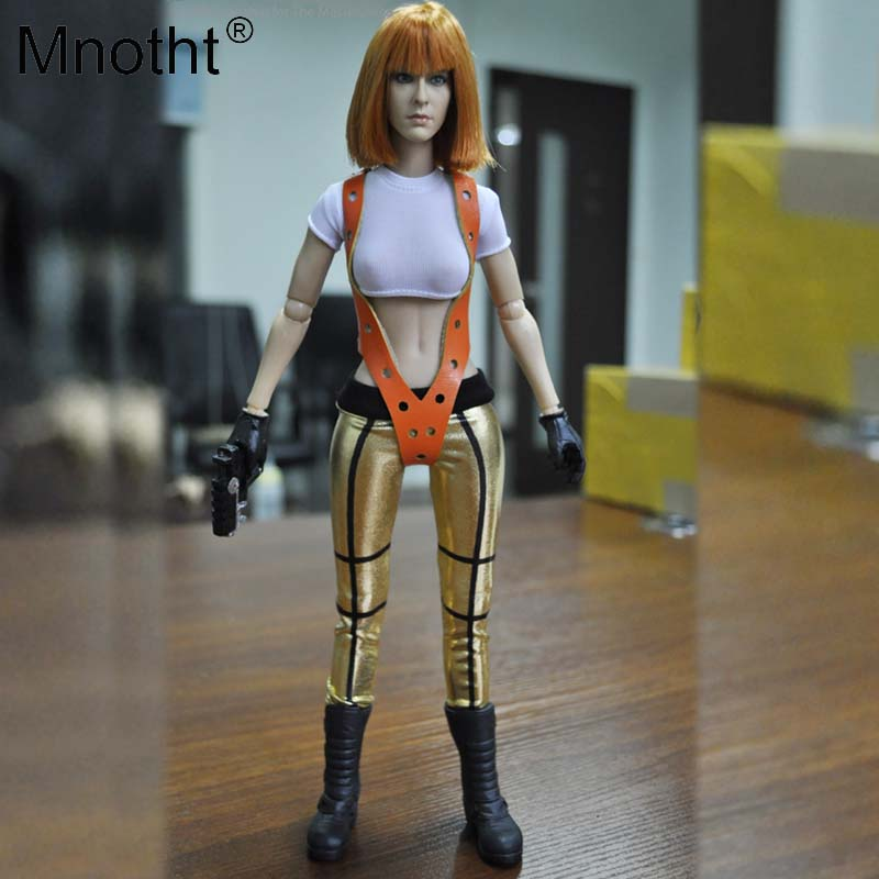 1/6 Scale KMF035 THE FIFTH ELEMENT MILLA JOVOVICH OUTFIT3 Clothing Set for 12in Action Figures Collections DIY TOY M3N цены онлайн