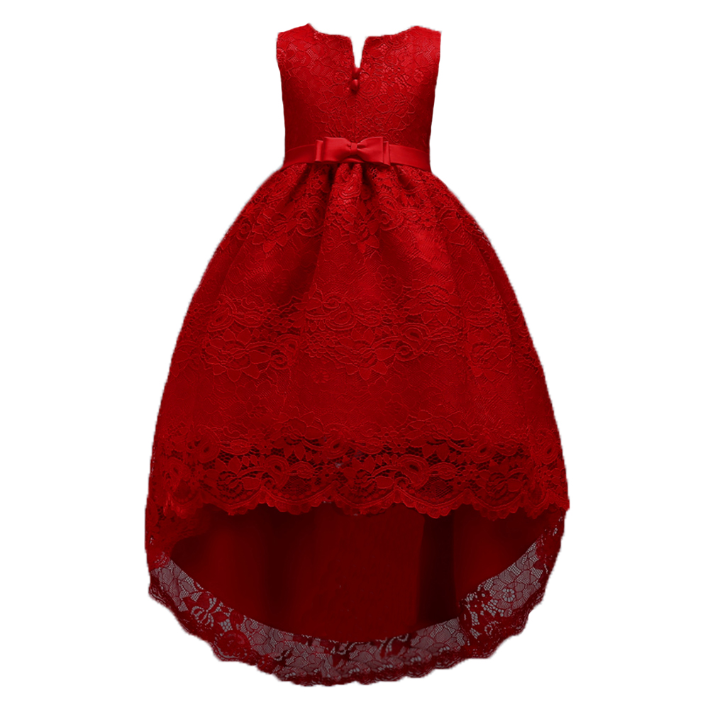 3fee4ea9bf US $19.04 30% OFF|2 14 Years Girls Birthday Party Christmas Dress for  Little Girl Teenager Short In Front Long In Back Prom Dresses for Kids-in  ...