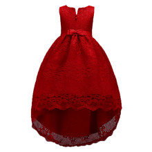 2-14 Years Girls Birthday Party Christmas Dress for Little Girl Teenager  Short In Front Long In Back Prom Dresses for Kids 120019ce42f4