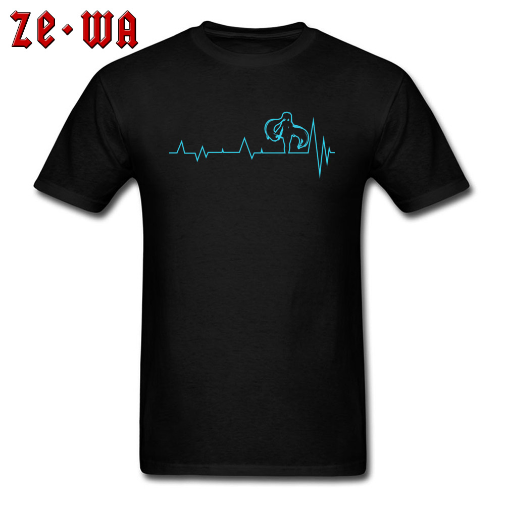 Heartbeat Vocaloid Hatsune Miku Alive Comic T Shirts Japan Cartoon Animation Cosplay Funny Cute T Shirt For Boy Hip Hop Rock in T Shirts from Men 39 s Clothing