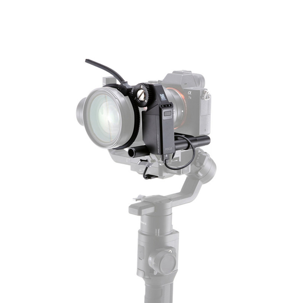 New Focus Motor Kit for DJI Ronin-S Use with Focus Wheel to Control the Focus Iris and Zoom Focus Stabilizer AccessoryNew Focus Motor Kit for DJI Ronin-S Use with Focus Wheel to Control the Focus Iris and Zoom Focus Stabilizer Accessory