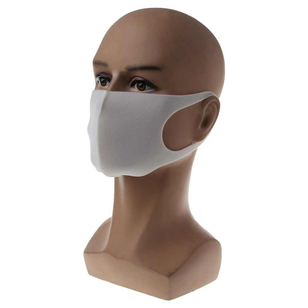ZLROWR ユニセックスイヤーループマスクサイクリングアンチダストヘイズ口フェイスマスク外科人工呼吸器