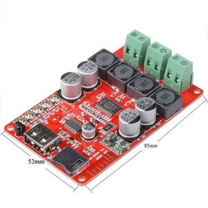 Image 3 - TPA3116 Bluetooth Receiver 50W*2 Digital Audio Amplifier Board TF card U disk player FM Radio With Remote contro I 2 001