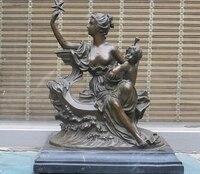 shitou 002298 12Greece Greek myth Bronze ART statue goddess of love and beauty Aphrodite