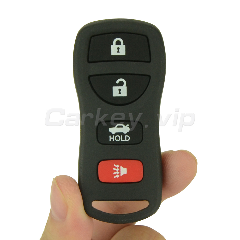 Remotekey remote car key fob kbrastu15 4 button 315mhz for nissan altima maxima 350z armada 2004 2005 2006 2007 2008 2009