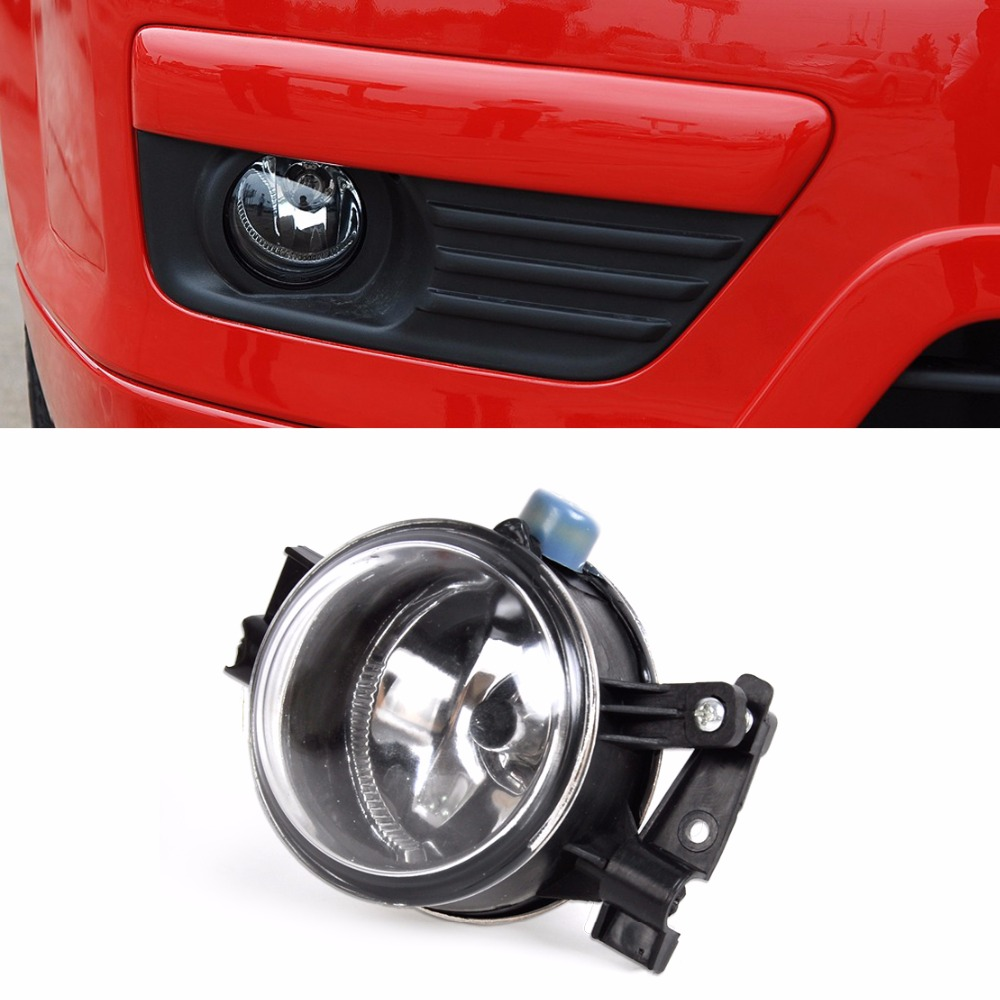 DWCX 3M51-15K201-AA Front Bumper Right Fog Lights Lamp H8 Bulb For Ford Focus 2005 2006 2007 for opel astra h gtc 2005 15 h11 wiring harness sockets wire connector switch 2 fog lights drl front bumper 5d lens led lamp