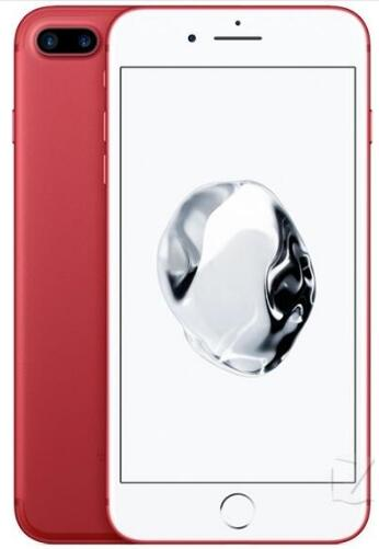 Apple iPhone 7 Plus, определение отпечатка пальца, 3 Гб оперативной памяти, Оперативная память 32/128 ГБ/256 IOS мобильного телефона LTE 12.0MP Камера Apple Quad-Core12MP мобильного телефона - Цвет: red