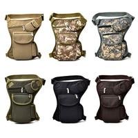 Men Women Drop Leg Bag Canvas Multi Pocket Cycling Waist Pouch Outdoor Sports Casual Bags Ka Best