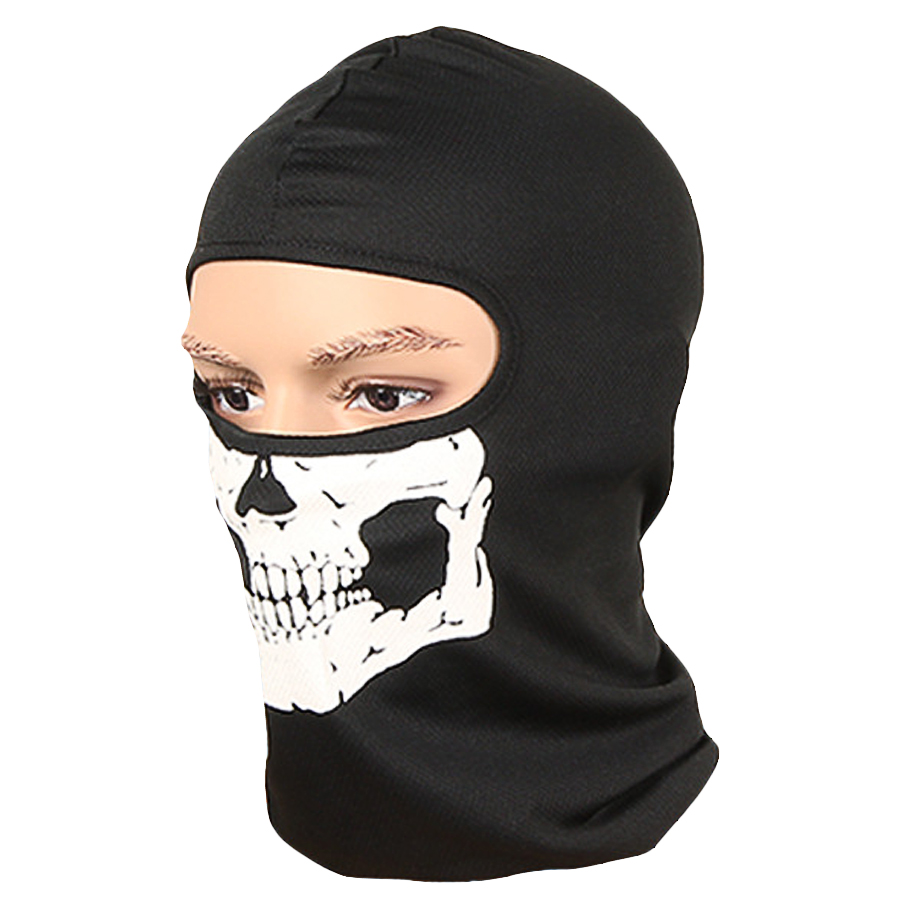 ①Skull Pattern No Pungent Smell Masks For Women Men Black Quick ...