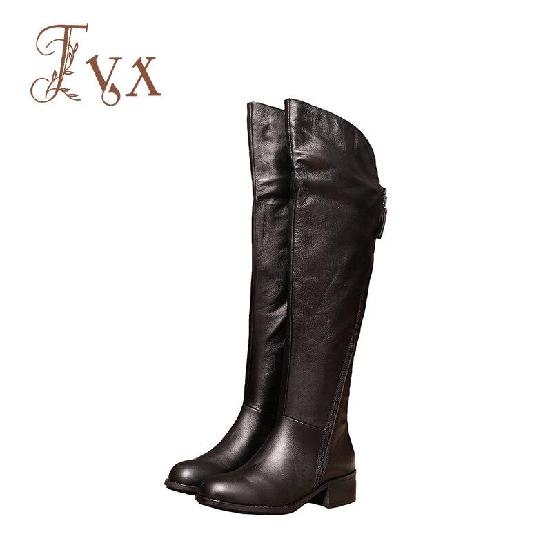 Tayunxing handmade shoes genuine leather over knee med heel women boots single/plush entirely cow leather zipper comfort 507-22 кровать comfort plush 152х203х56см со встроенным насосом 220в intex 64418