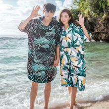 8b1d418dab Fashion Plus size beach cover up 2019 women/men hooded kaftan for swim wear  bikini