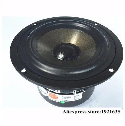 Romantisch Hivi 5.5 Inch Bass Speaker Diameter 144mm 35 ~ 70 W 8 Ohm Voor Boekenplank Speaker Diy 2 Stks/partij