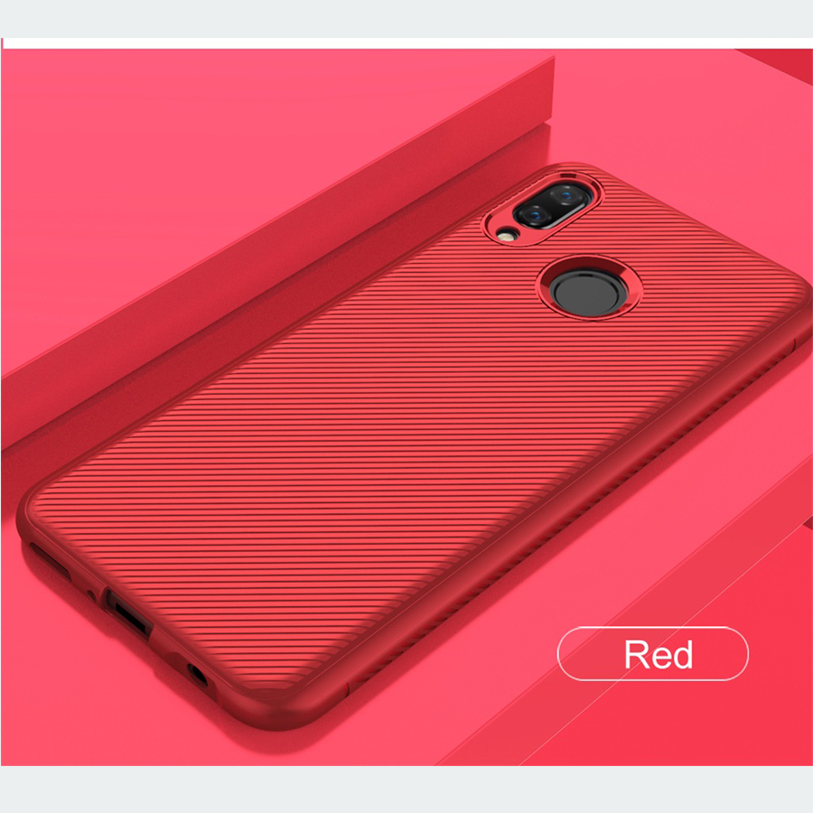 For Huawei Nova 3 Case Nova3i Cover Lenuo TPU Soft Silicone mobile phone housing Back Cover Red Phone Case For Huawei Nova 3i