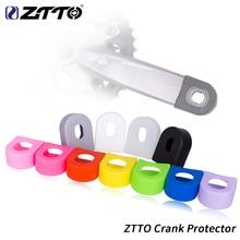 ZTTO MTB дорожный велосипед протектор для кривошипа карбоновый шатун силиконовый гелевый Чехол защитный рукав велосипедные сапоги 2 шт. Аксессуары для велосипеда