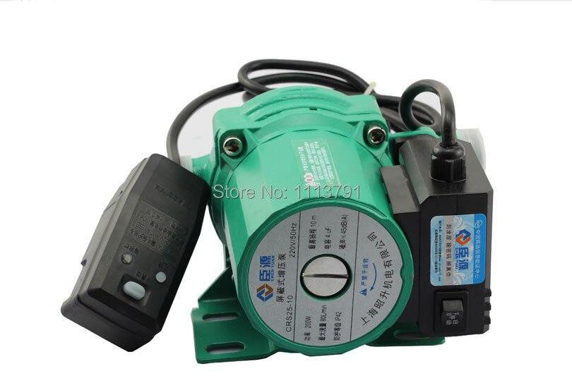 Chauffe-eau à gaz automatique domestique pompes à eau solaires pompe de surpression de l'eau muet 200 W avec protection contre les fuites