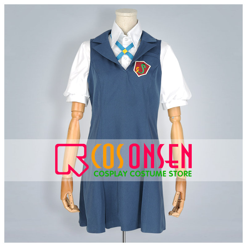COSPLAYONSEN Anime Tari Tari Wakana Sakai Cosplay Costume School Uniform Any Size