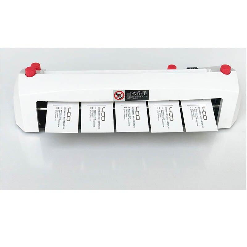A4 größe elektrische visitenkarte schneiden maschine SK316 90*54mm karte größe SK316 Heavy duty feine tuning karte cutter 220 240 V 20 W HEIßER - 4