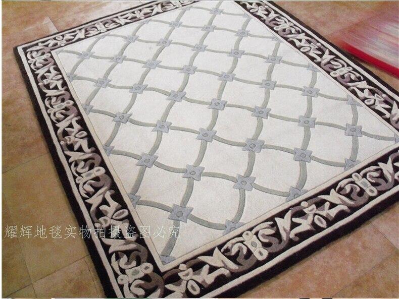 Tapis laine tapis et moquettes européens tapis salon Diamond tapete tapis alfombras tapis pour un salon moderne - 2