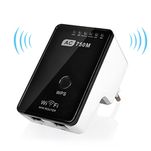 Original Wifi Router 750Mbps Mini Router Wireless Wifi Repeater Dual Band 2 4 5GHz Wifi Signal