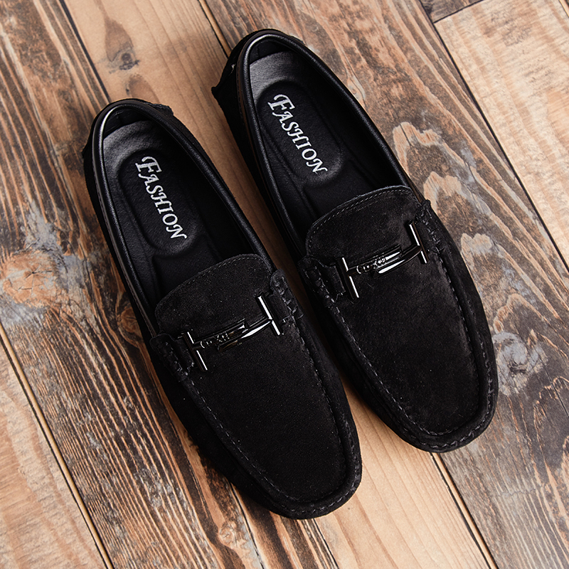 Men's Top Brand Fashion Casual Soft Loafers Suede Boat Shoes Male Footwear Adult Drivings Summer Moccasins Hommes Plus Size 11 47