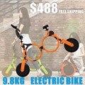 PLEGADO ELÉCTRICO AIRWHEEL IMPOSIBLE MOCHILA BICICLETA batería de litio scooter Eléctrico madre bebé metro de la bicicleta